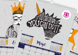 Calendario Wire O de pared