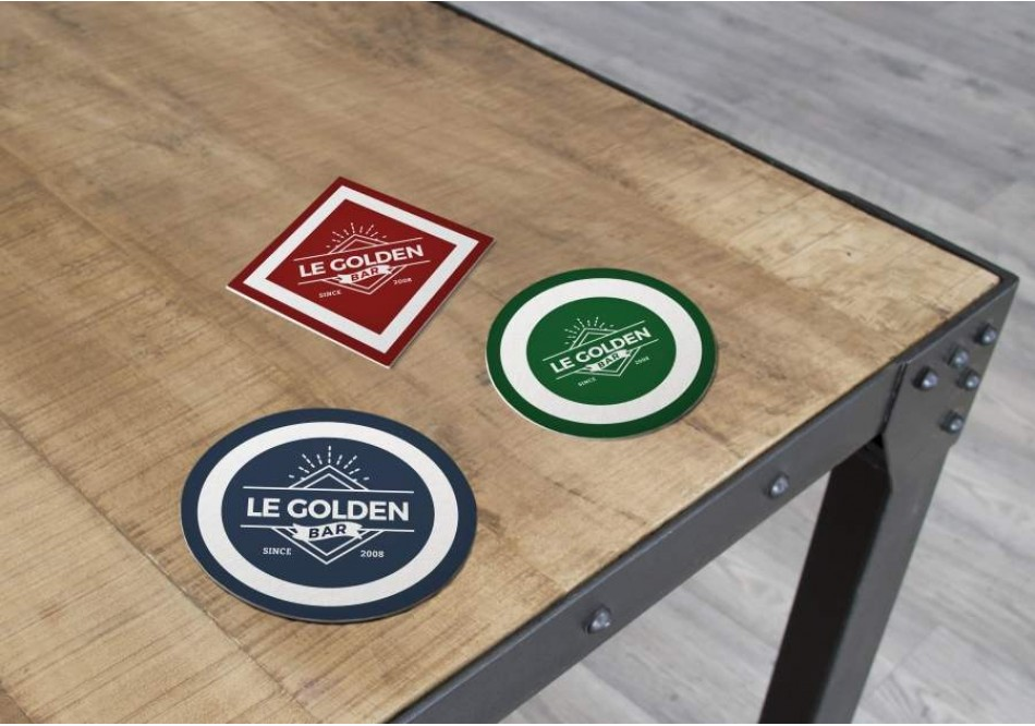 Coasters for Bars and Restaurants