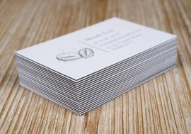 Triplex business card