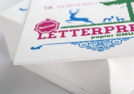 Tarjetas de visita Letter Press