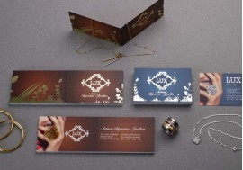 Stamping business card