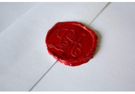 Wax stamp on Mallorca